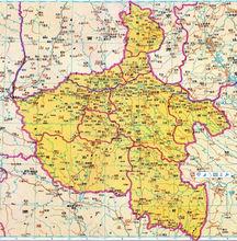 明清、民国时期河南省地图