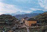 中国南部南岭中的村落